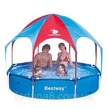 Бассейн с зонтиком и душем Bestway