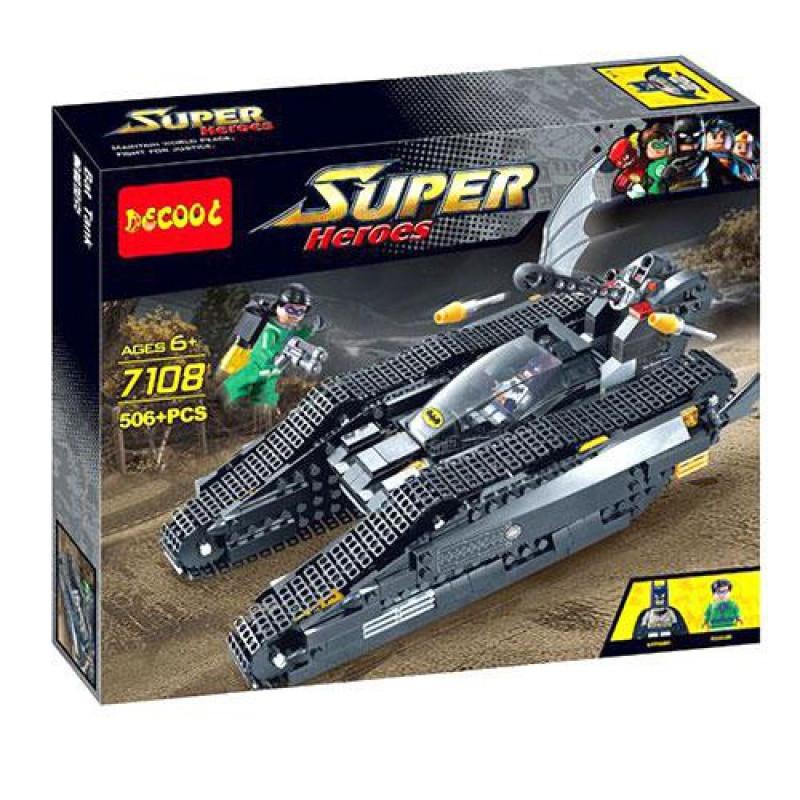 """Конструктор Decol 7108 (реплика Lego) """"Бэтмобиль"""" 506 дет"""