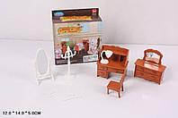 """Игровой набор """"Happy Family"""" (аналог Sylvanian Families) - мебель для спальни."""