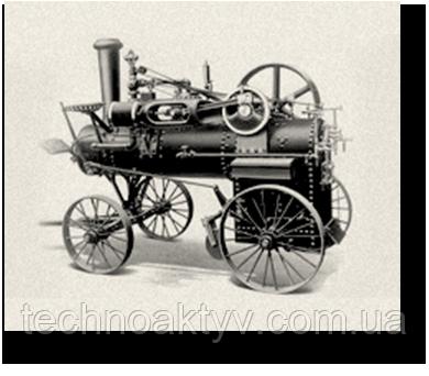 1869 CASE ВЫПУСКАЕТ ПЕРВЫЙ МОБИЛЬНЫЙ ПАРОВОЙ ДВИГАТЕЛЬ Компания Case изготовила первый мобильный паровой двигатель, дав рождение отрасли дорожного строительства. Оригинальный механизм выставлен в Смитсоновском институте в Вашингтоне.