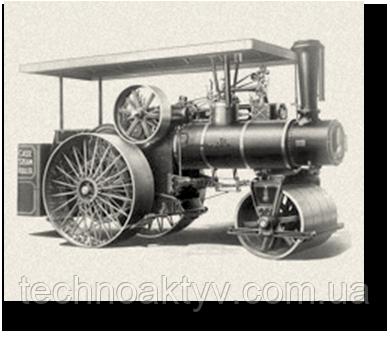 1912 CASE ПРОИЗВОДИТ ОБОРУДОВАНИЕ ДЛЯ ДОРОЖНОГО СТРОИТЕЛЬСТВА Компания Case производит полный спектр дорожно-строительной техники, включая грейдеры и паровые катки для уплотнения дорожного покрытия.