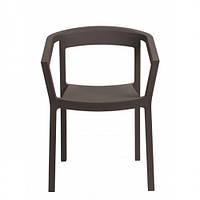 Пластиковое кресло Peach ШОКОЛАД