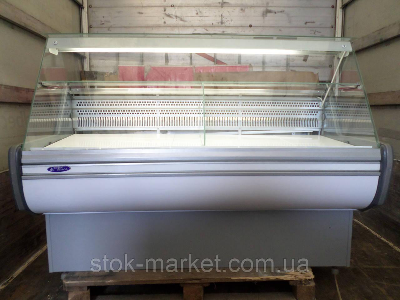 Холодильная витрина Технохолод Небраска 1,6 м. бу , холодильный прилавок б/у
