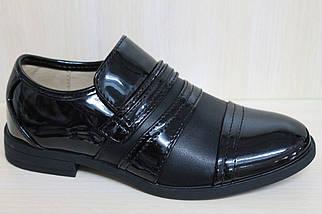 Туфли на мальчика подростковые школьная обувь тм Том.м р.36, фото 2