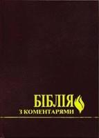 Біблія з коментарями, 17х24 см,  Ред.   Ч. Стемпс, В. Боєчко.