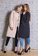 Женское демисезонное плащевое пальто в расцветках i-alb15639