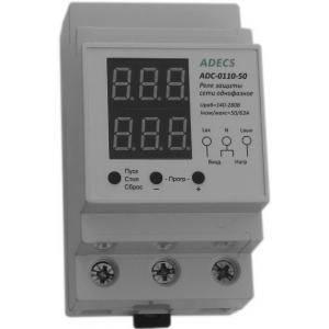 Реле контроля напряжения и тока Adecs ADC-0110-50, фото 2
