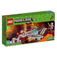 LEGO® Minecraft ПОДЗЕМНАЯ ЖЕЛЕЗНАЯ ДОРОГА 21130