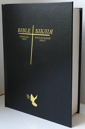 Біблія/Bible, 17х24 см, чорна, фото 2