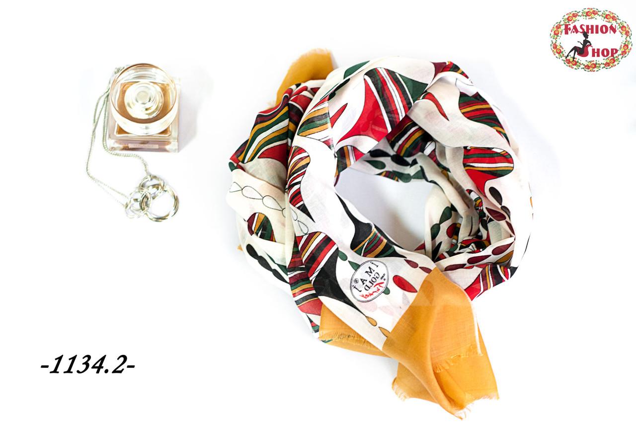 Стильный лёгкий шарф Капля