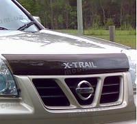 Дефлектор капота- мухобойка Nissan X-Trail