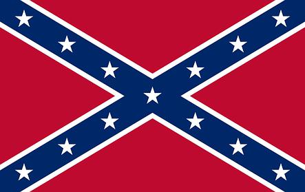 Флаг Конфедерации (Боевое знамя Конфедерации) - (1м*1.5м), фото 2