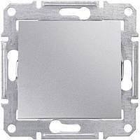 Одноклавишный перекрестный переключатель 10 A серии Sedna. Цвет Алюминий SDN0500160