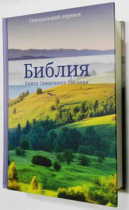 Библия, 13х21 см., с изображением природы, фото 2