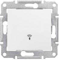 Кнопочный выключатель с символом «звонок» 10A серии Sedna. Цвет Слоновая кость SDN0800123
