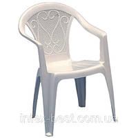 Пластиковое кресло Ole белое, фото 1