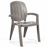Кресло Creta серое