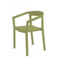 Пластиковое кресло Peach оливковое