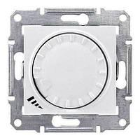 Светорегулятор поворотно-нажимной индуктивный 1000 ВА серии Sedna. Цвет Слоновая кость SDN2200923