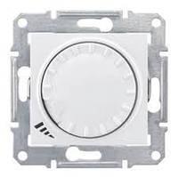 Диммер универсальный поворотно-нажимной серии Sedna Цвет Белый SDN2201121
