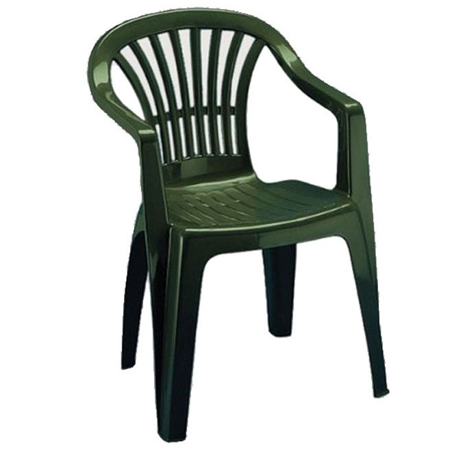 Пластиковое кресло Altea зелёное