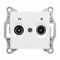 Розетка TV/R проходная 4 dB Sedna. Цвет Белый SDN3301821