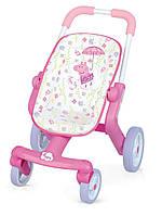 Прогулочная коляска для пупса свинка Пеппа Smoby  251206