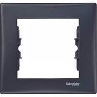 Декоративная рамка 1-постовая Sedna. Цвет Графит SDN5800170