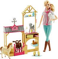 Barbie Барби ветеринар на ферме Careers Farm Vet Doll & Playset