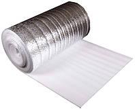 Алюфом (С) НПЭ 3 мм,  фольгированный с клеевой основой (25х1м)