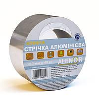 Лента самоклеящаяся алюминиевая Аленор 40мкм 75мм*40м
