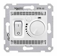 Комнатный термостат 10А серии Sedna. Цвет Белый SDN6000121