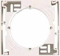 Коробка одиночная для наружного монтажа Sedna. Цвет Слоновая кость SDN6100123