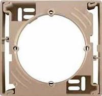 Коробка одиночная для наружного монтажа Sedna. Цвет Титан SDN6100168