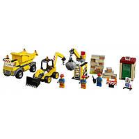 Lego Juniors Стройплощадка Demolition Site 10734