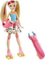 Barbie Барби на светящихся роликах серии Героиня видеоигр Girls Anime Doll