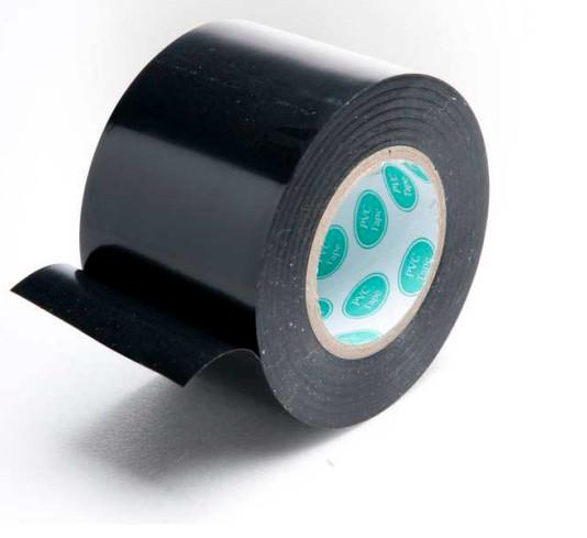 Самоклеящаяся лента для швов PVC tape black 50мм*25м
