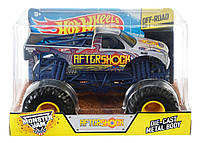 Hot Wheels Monster Jam Внедорожник джип 1:24 Scale Aftershock Vehicle