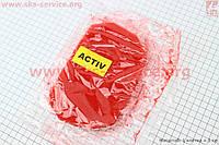 Фильтр-элемент воздушный  поролон  с пропиткой красный  на мопед Active