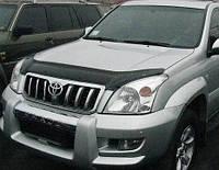 Дефлектор капота- мухобойка Toyota Land Cruiser 120