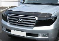 Дефлектор капота- мухобойка Toyota Land Cruiser 200