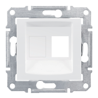 Адаптер для коннекторов 1М AMP MOL КАТ5Е 6 UTP. Sedna Цвет Белый SDN4300621