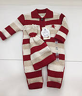 Детский комбинезон для мальчика на 6-9 месяцев