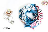 Стильный лёгкий шарф Барокко