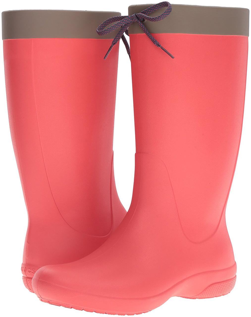 c10084589b6b Женские резиновые сапоги Крокс Crocs Freesail Rainboot