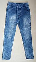Лосины детские джинсовые на девочек 5-8 лет