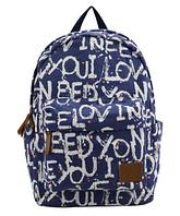 Рюкзак городской буквы