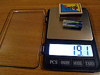 Весы ювелирные Карманные электронные XY-8007  3000 г. 0,1г с Батарейками Акция !!!