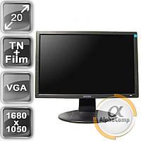 """Монитор 20"""" Philips 200VW (16:10/VGA) class A БУ"""