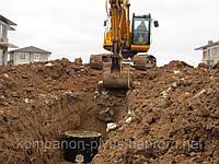 Траншеї, копка траншей Київ 4665942. Вирити траншею, викопати траншею.